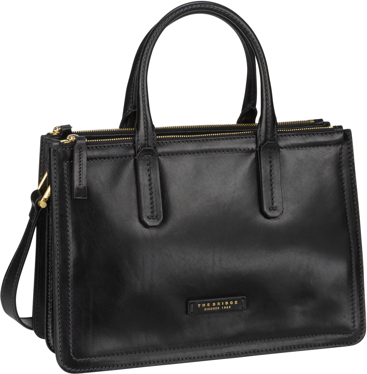 Handtasche Beatrice 4620 Nero/Oro