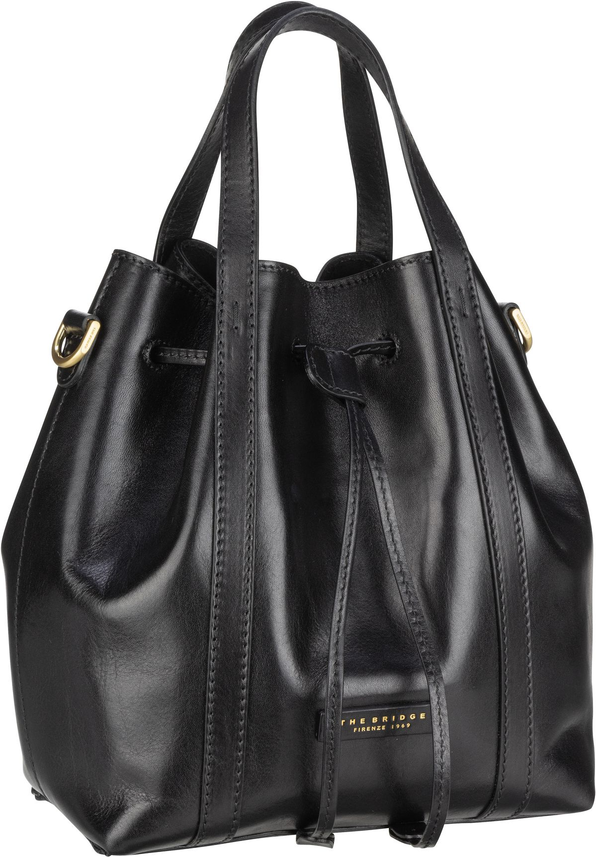 Handtasche Vittoria 2000 Nero/Oro