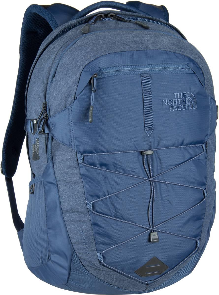 The North Face Borealis Backpack Shady Blue Heather/Shady - Laptoprucksack