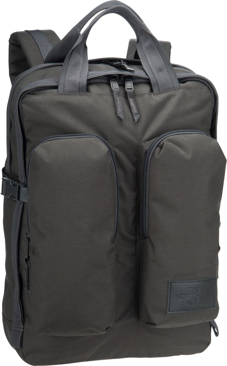 Rucksack / Daypack Mini Crevasse Asphalt Grey Heather/TNF Black (14.5 Liter)