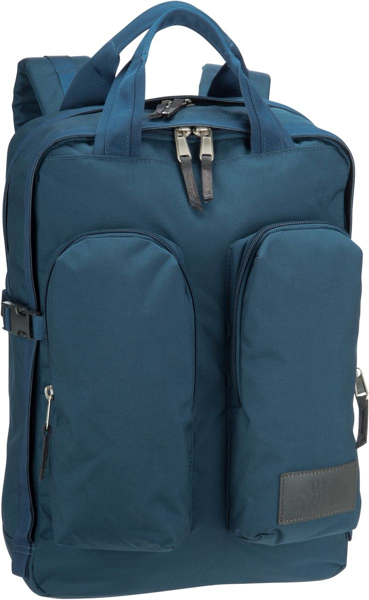 Rucksack / Daypack Mini Crevasse Blue Wing Teal Heather/Asphalt Grey (14.5 Liter)