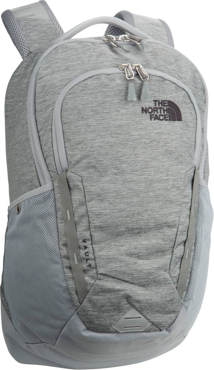 Rucksack / Daypack Vault Mid Grey Dark Heather/TNF Black (28 Liter)