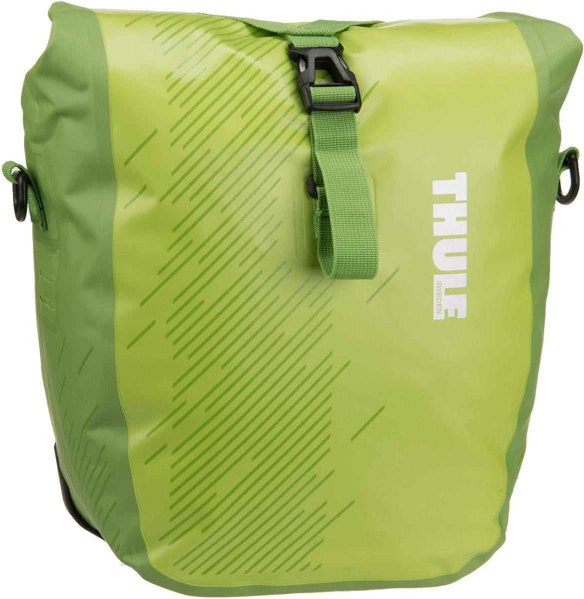 Thule Shield Pannier S Chartreuse - Fahrradtasche Sale Angebote Hornow-Wadelsdorf