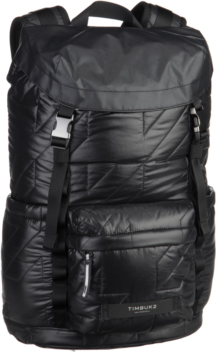 Laptoprucksack Launch Pack Special Jet Black Quilted (innen: Neonorange) (18 Liter)