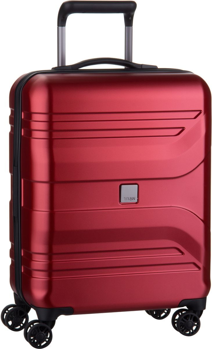 Prior 4-Wheel Trolley S Sunset Red