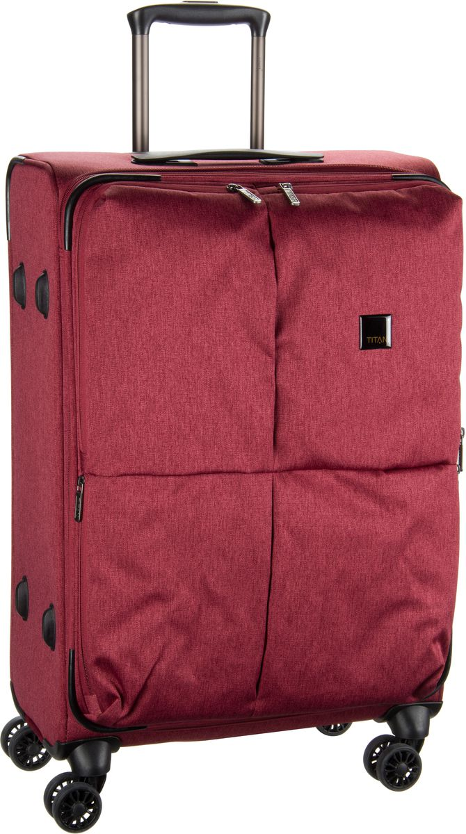Titan Square Trolley M Red - + Koffer Sale Angebote Haasow