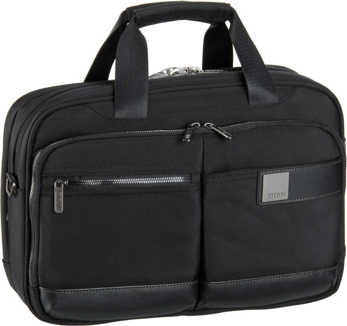 Titan Power Pack Laptop Bag S Black - Aktentasche