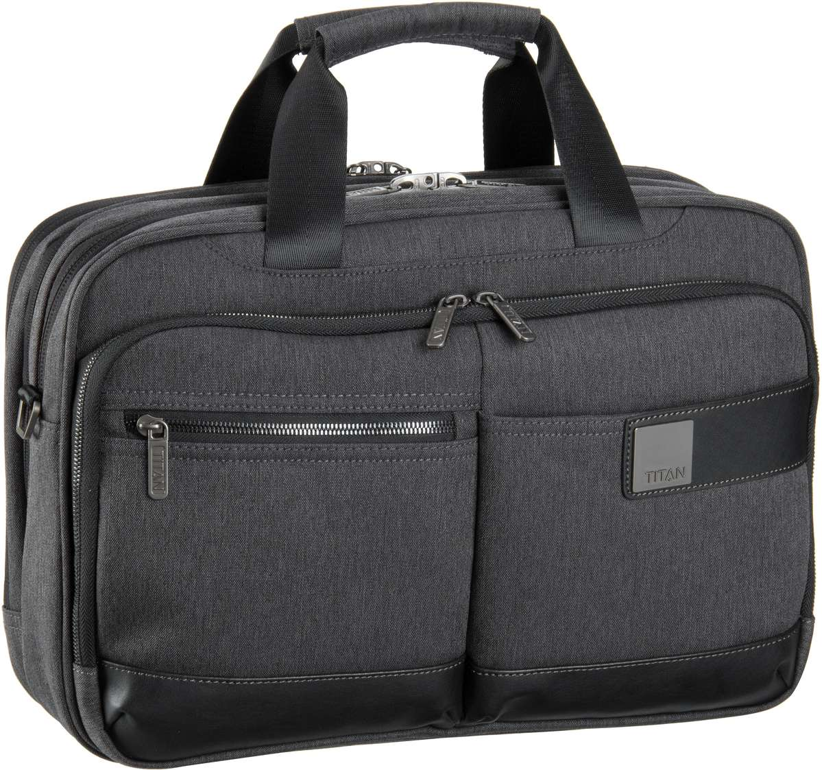 Power Pack Laptop Bag S Mixed Grey