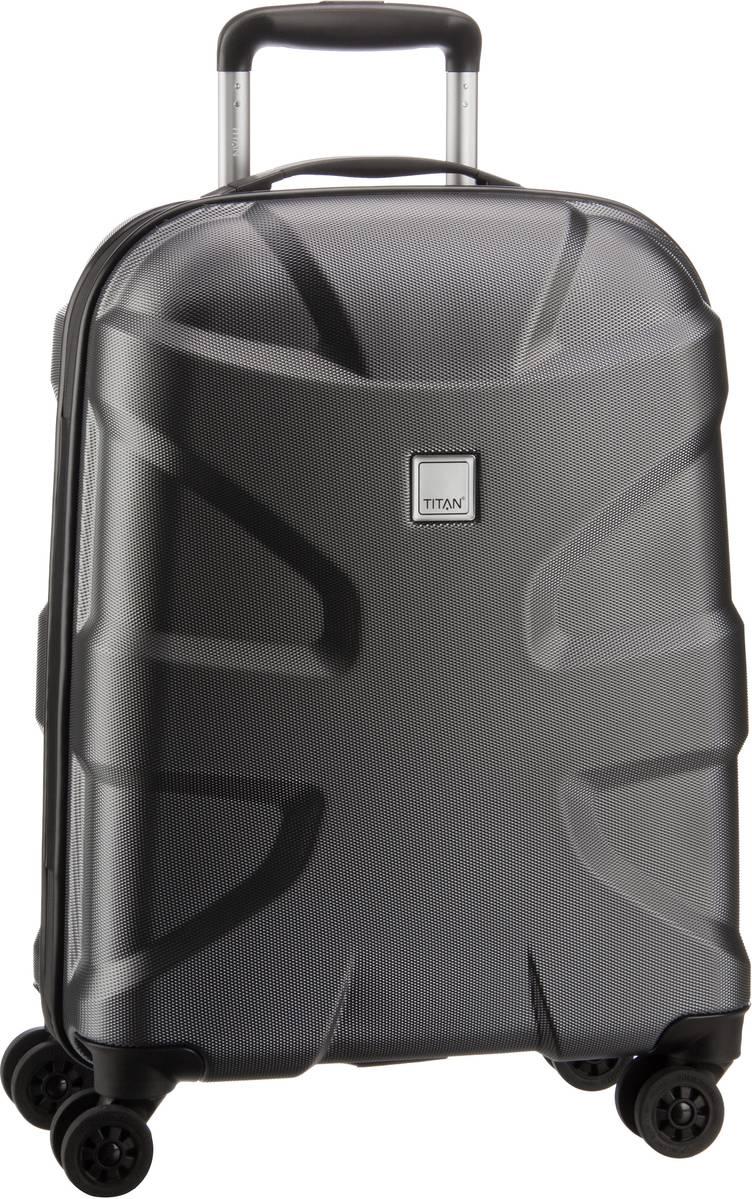 Titan X2 Shark 4-Wheel Trolley S Gunmetal - + Koffer Sale Angebote Haasow