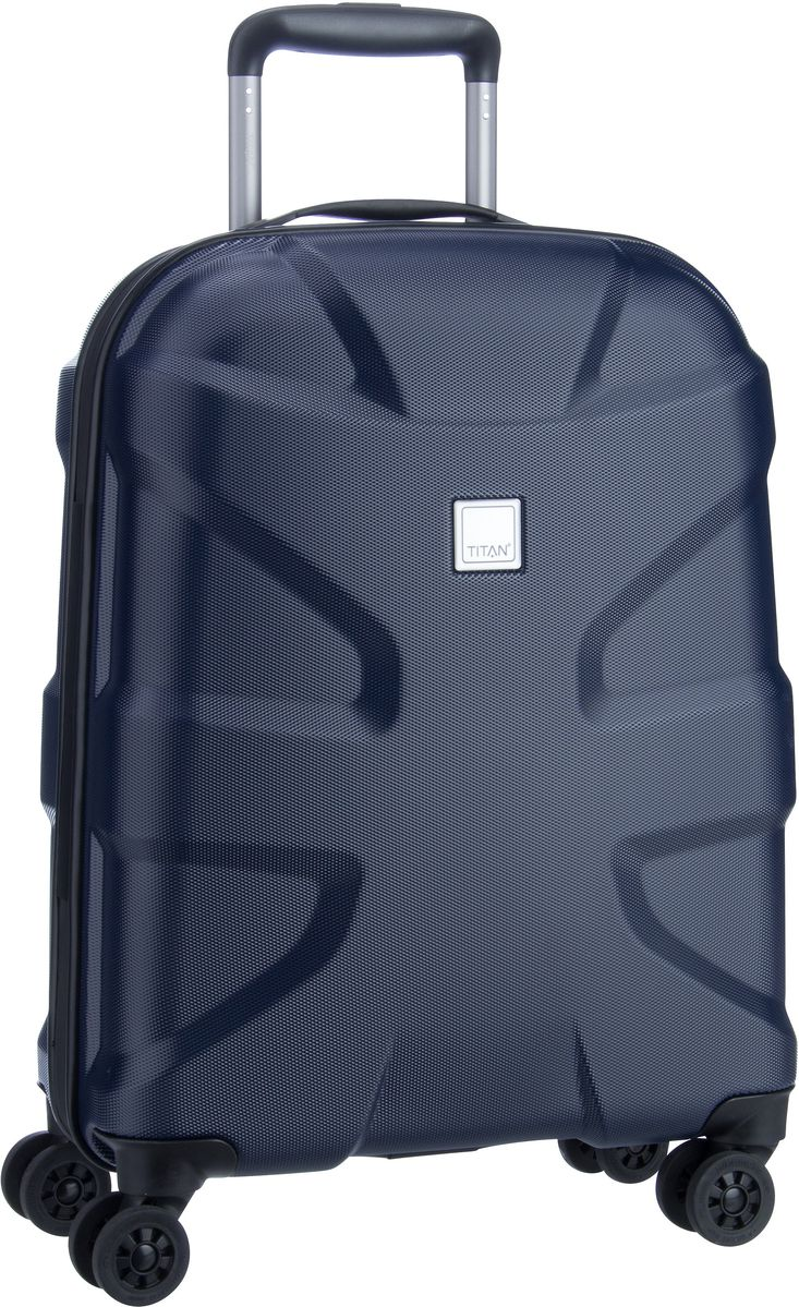Titan Trolley + Koffer X2 4-Wheel Trolley S Navy (40 Liter)