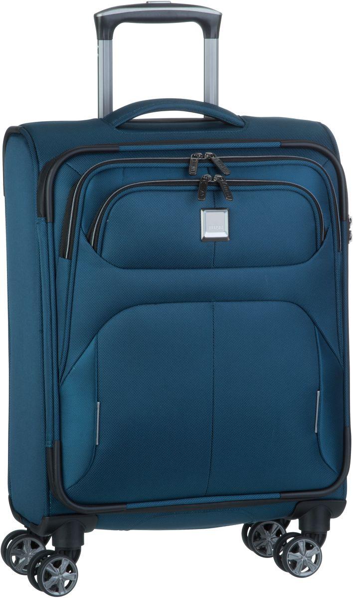 Reisegepaeck für Frauen - Titan Trolley Koffer Nonstop 4 Wheel Trolley S Petrol (36 Liter)  - Onlineshop Taschenkaufhaus