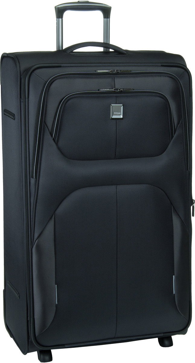 Titan Nonstop 2 Wheel Trolley L Expandable Anthracite Trolley Koffer