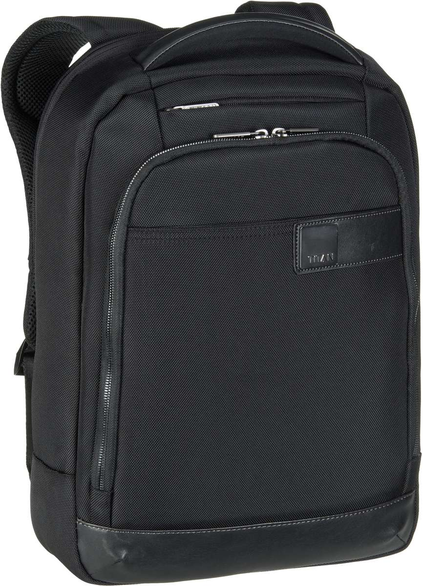 Titan Laptoprucksack Power Pack Backpack Slim Black (16 Liter)