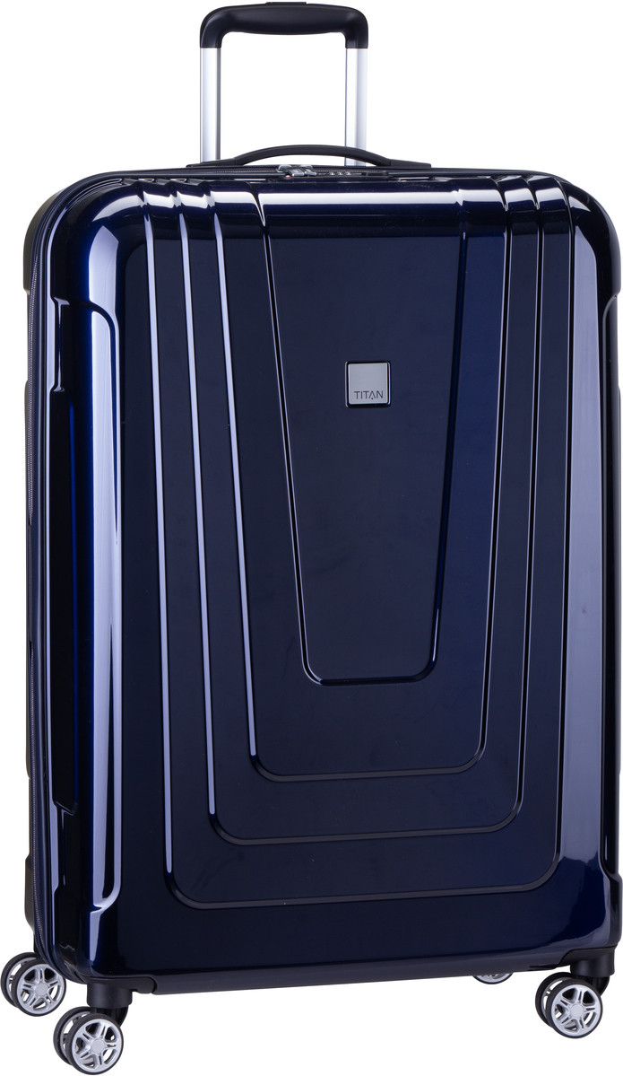 Titan Trolley + Koffer X-Ray 4-Wheel Trolley L Space Blue (102 Liter)