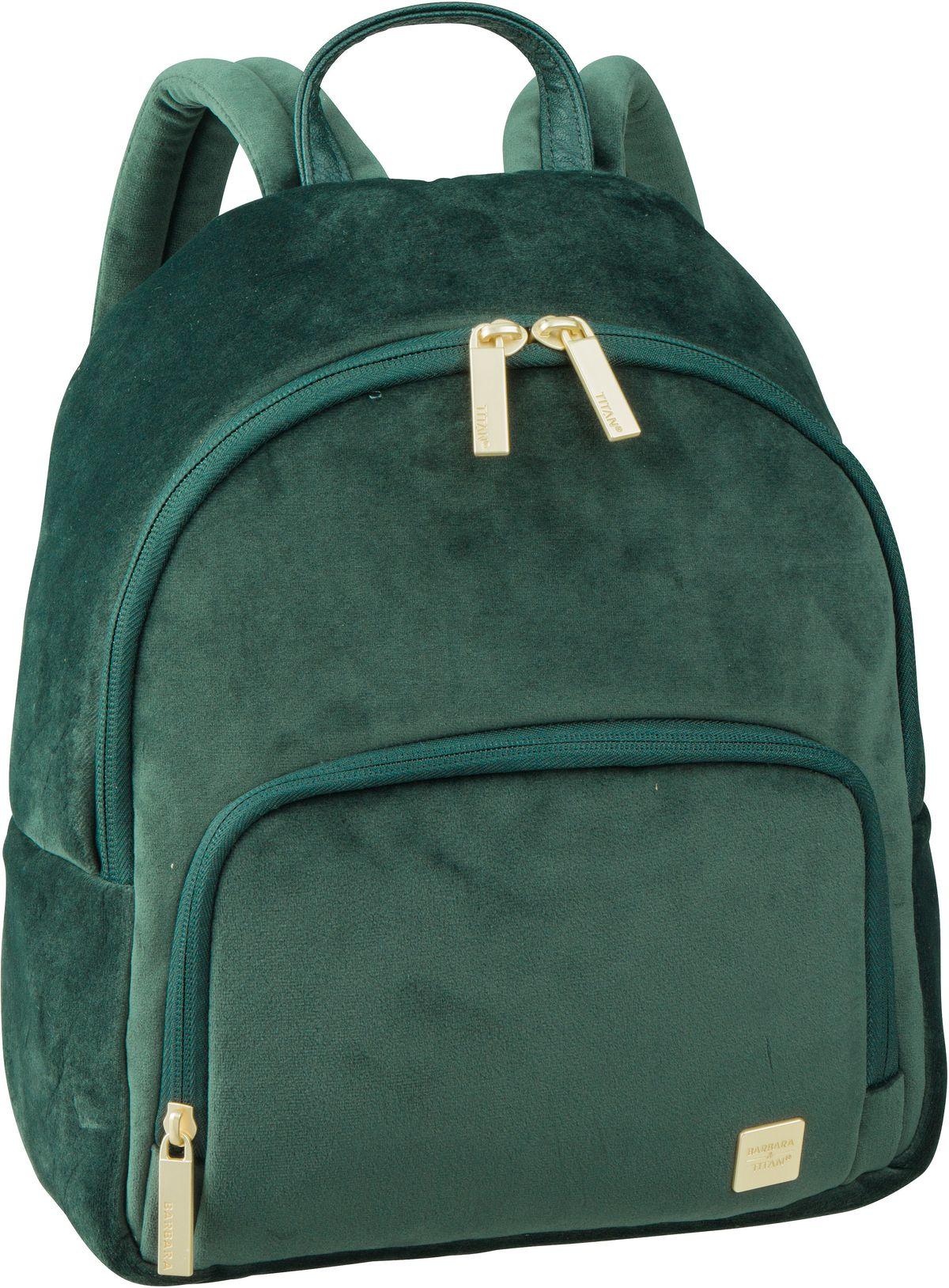 Rucksack / Daypack Barbara Velvet Backpack Forest Green (8 Liter)