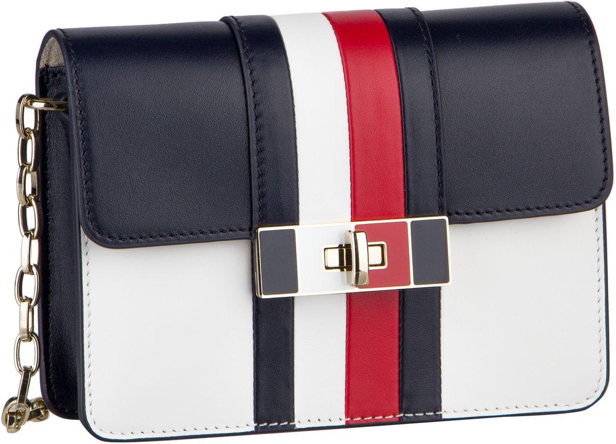 Handtaschen für Frauen - Tommy Hilfiger Handtasche Corporate Lock Leather Crossover 4475 Corporate CB  - Onlineshop Taschenkaufhaus