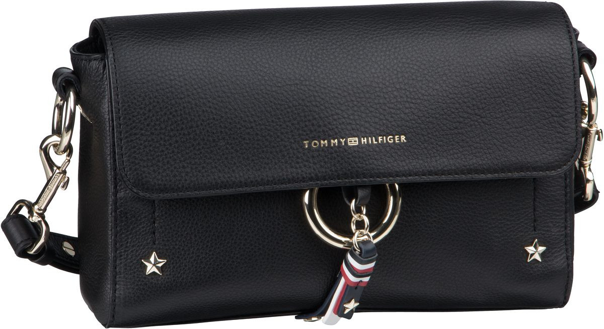 Umhängetasche Heritage Leather Crossover 5821 Black