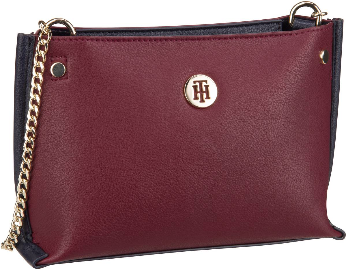 Handtasche Tommy Chain Crossover 5812 Burgundy/Tommy Navy