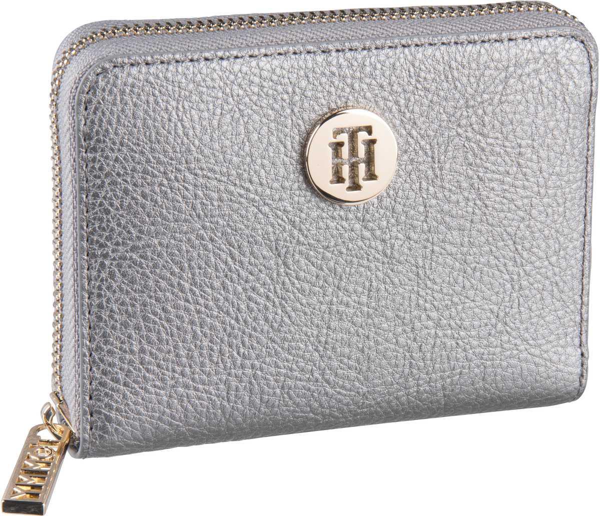 Geldboersen für Frauen - Tommy Hilfiger Geldbörse TH Core Compact ZA Wallet 6135 Pewter  - Onlineshop Taschenkaufhaus