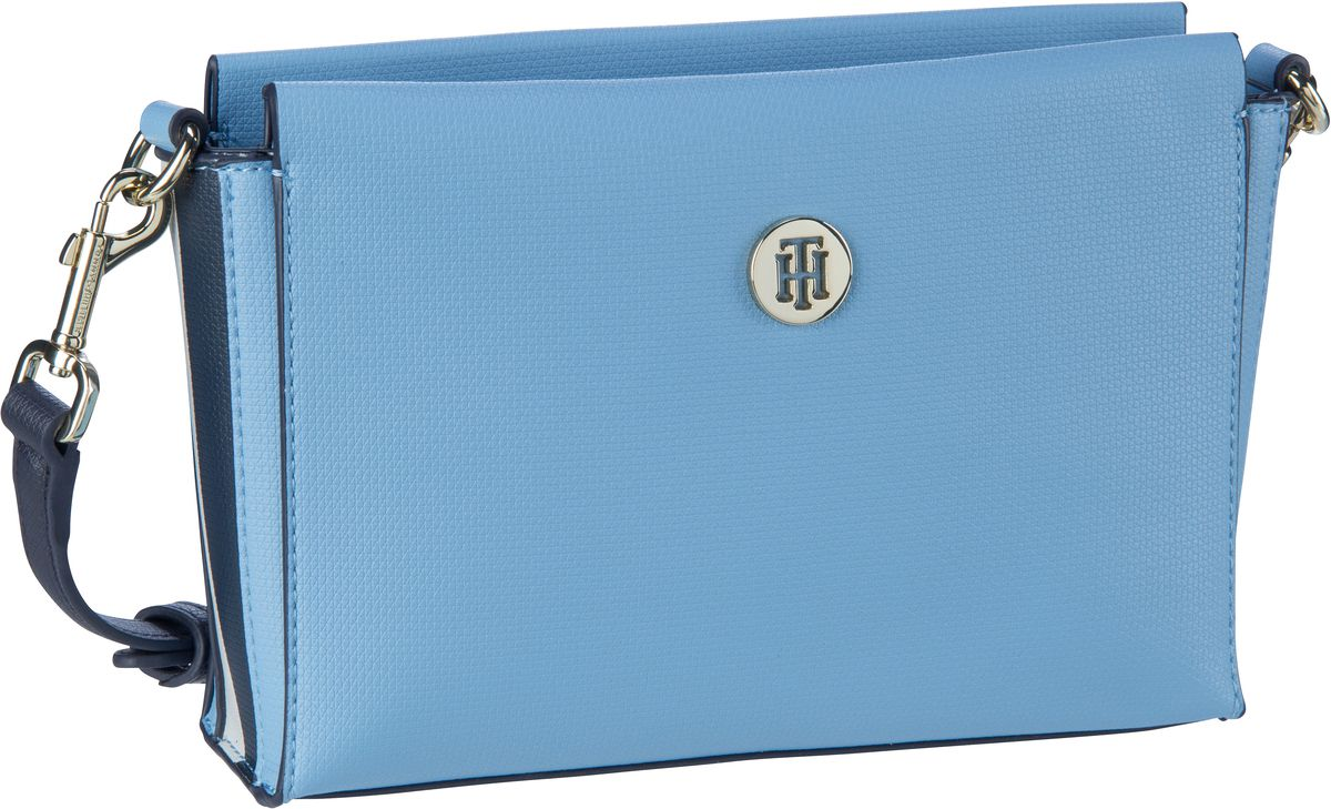 Umhängetasche Effortless Saffiano Crossover 6306 Dusk Blue