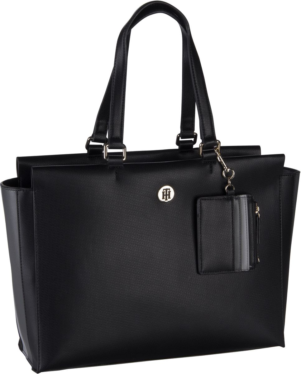 Shopper Effortless Saffiano EW Tote 6375 Black