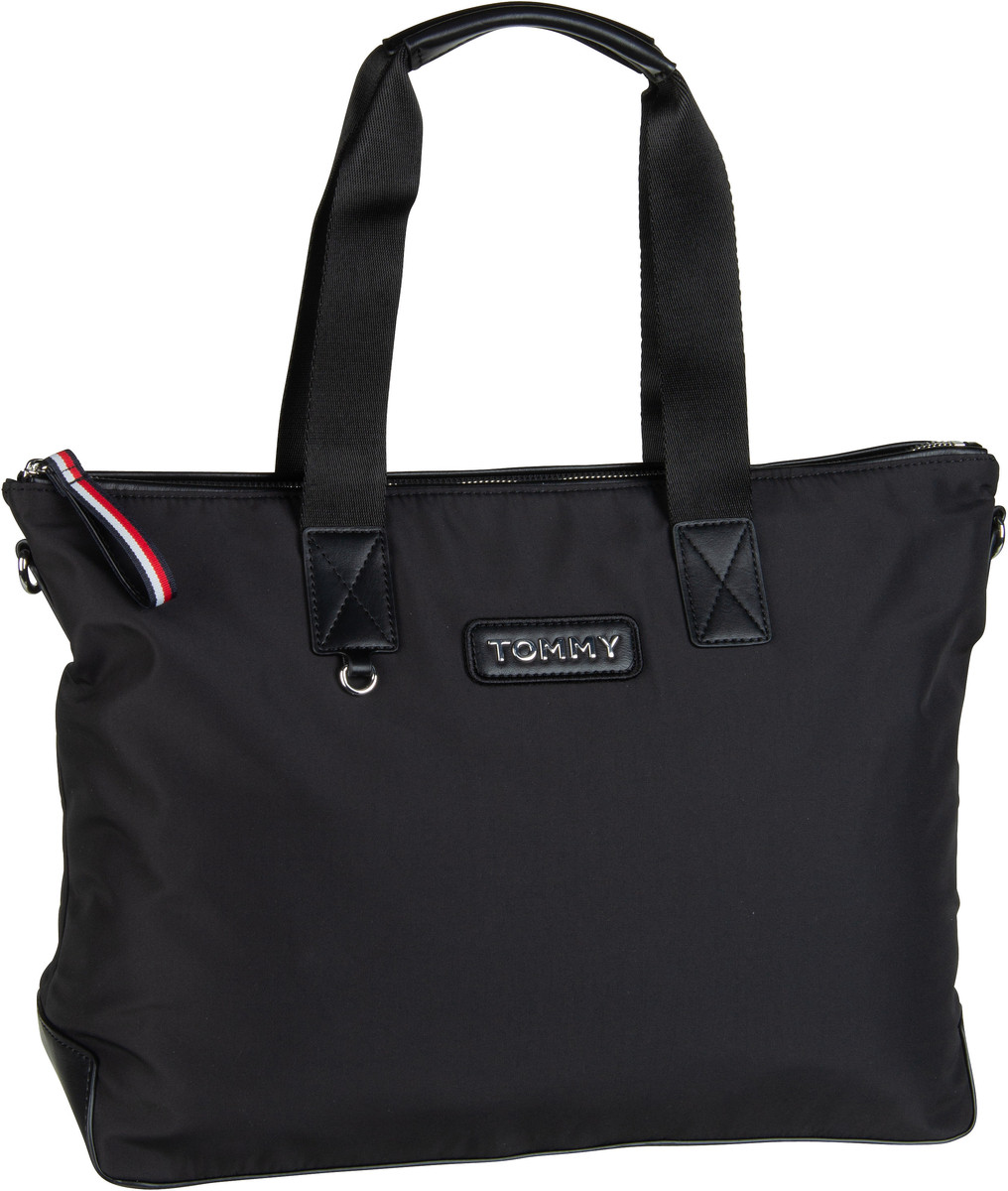 Handtasche Varsity Nylon Tote 6114 Black