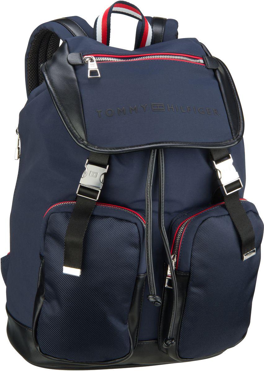 Laptoprucksack Urban Novelty Flap Backpack 4246 Tommy Navy/Black
