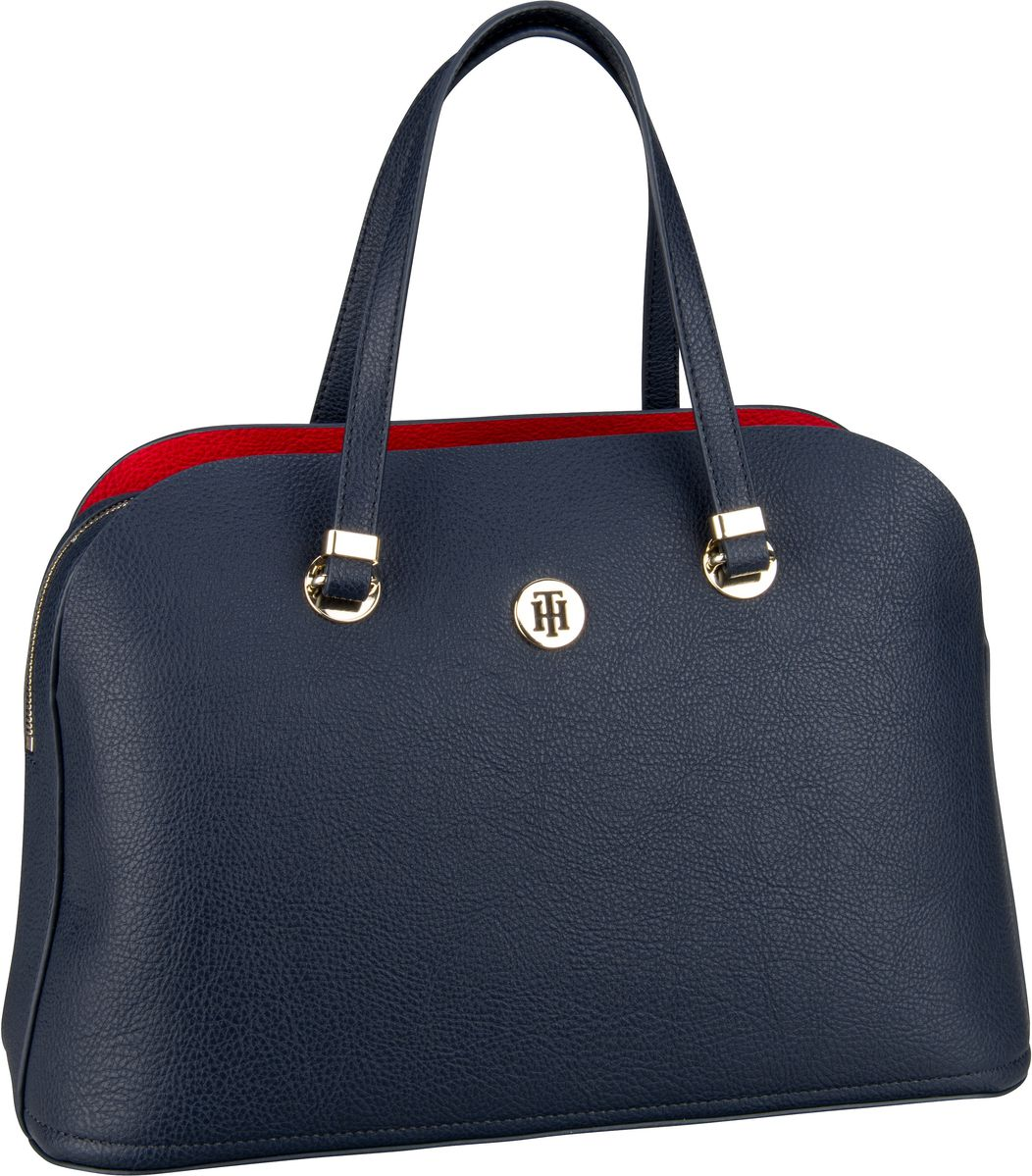 Handtasche TH Core Satchel 6444 Corporate (innen: Rot)