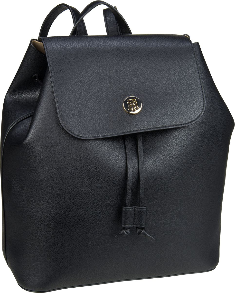 Rucksack / Daypack Charming Tommy Backpack 6457 Black/Warm Sand (innen: Beige)
