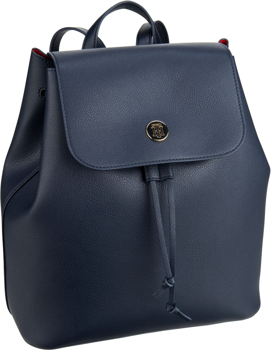 Rucksack / Daypack Charming Tommy Backpack 6457 Tommy Navy/Tommy Red (innen: Rot)