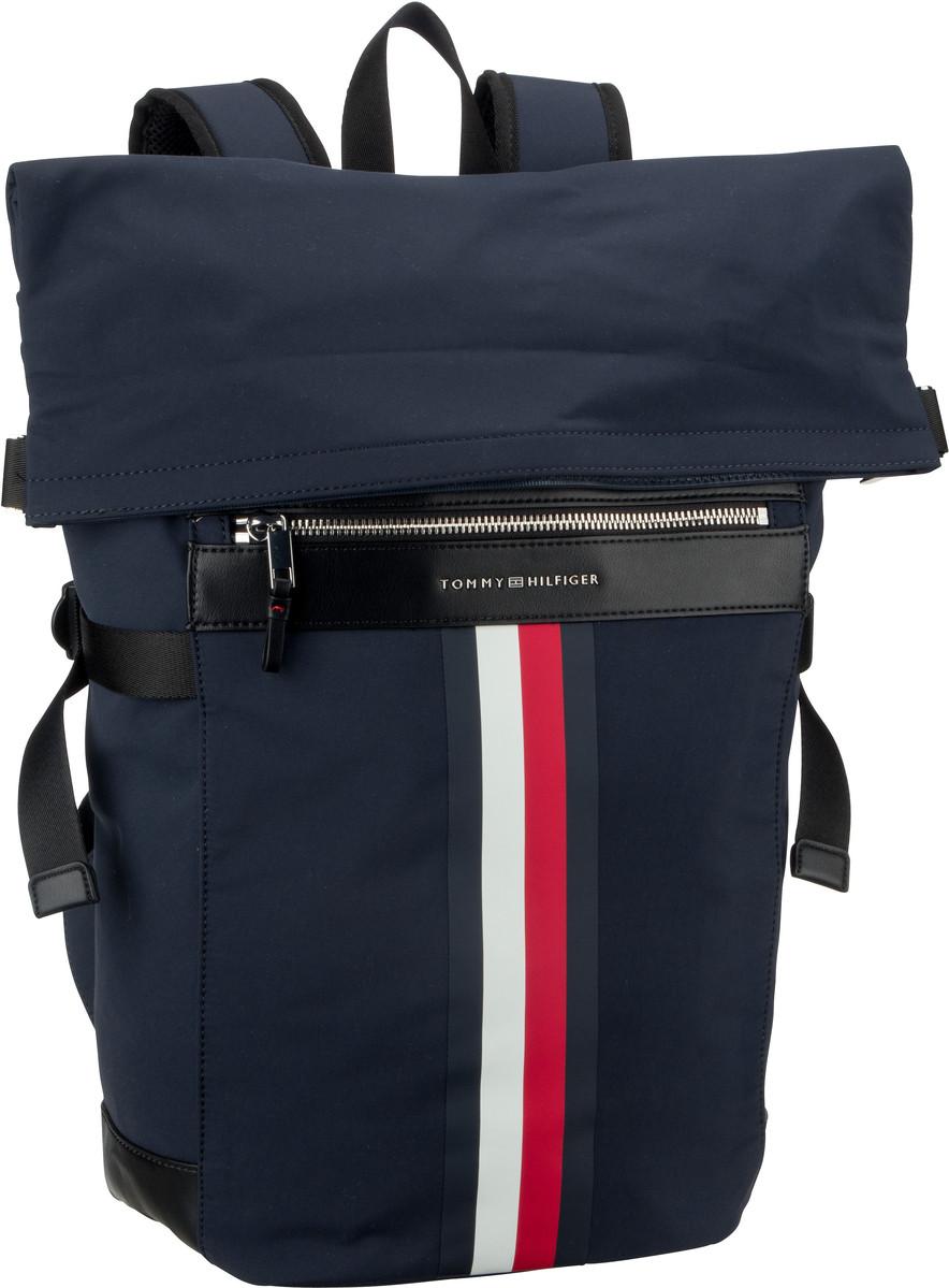 Rucksack / Daypack Elevated Roll Backpack Stripe Tommy Navy