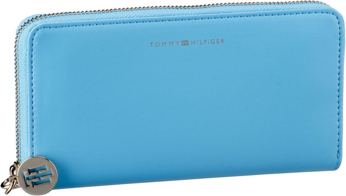 Geldboersen für Frauen - Tommy Hilfiger Kellnerbörse Tommy Statement LRG ZA Alaskan Blue  - Onlineshop Taschenkaufhaus