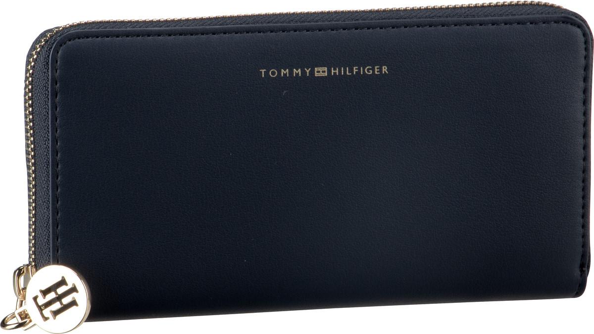 Geldboersen für Frauen - Tommy Hilfiger Kellnerbörse Tommy Statement LRG ZA Tommy Navy  - Onlineshop Taschenkaufhaus