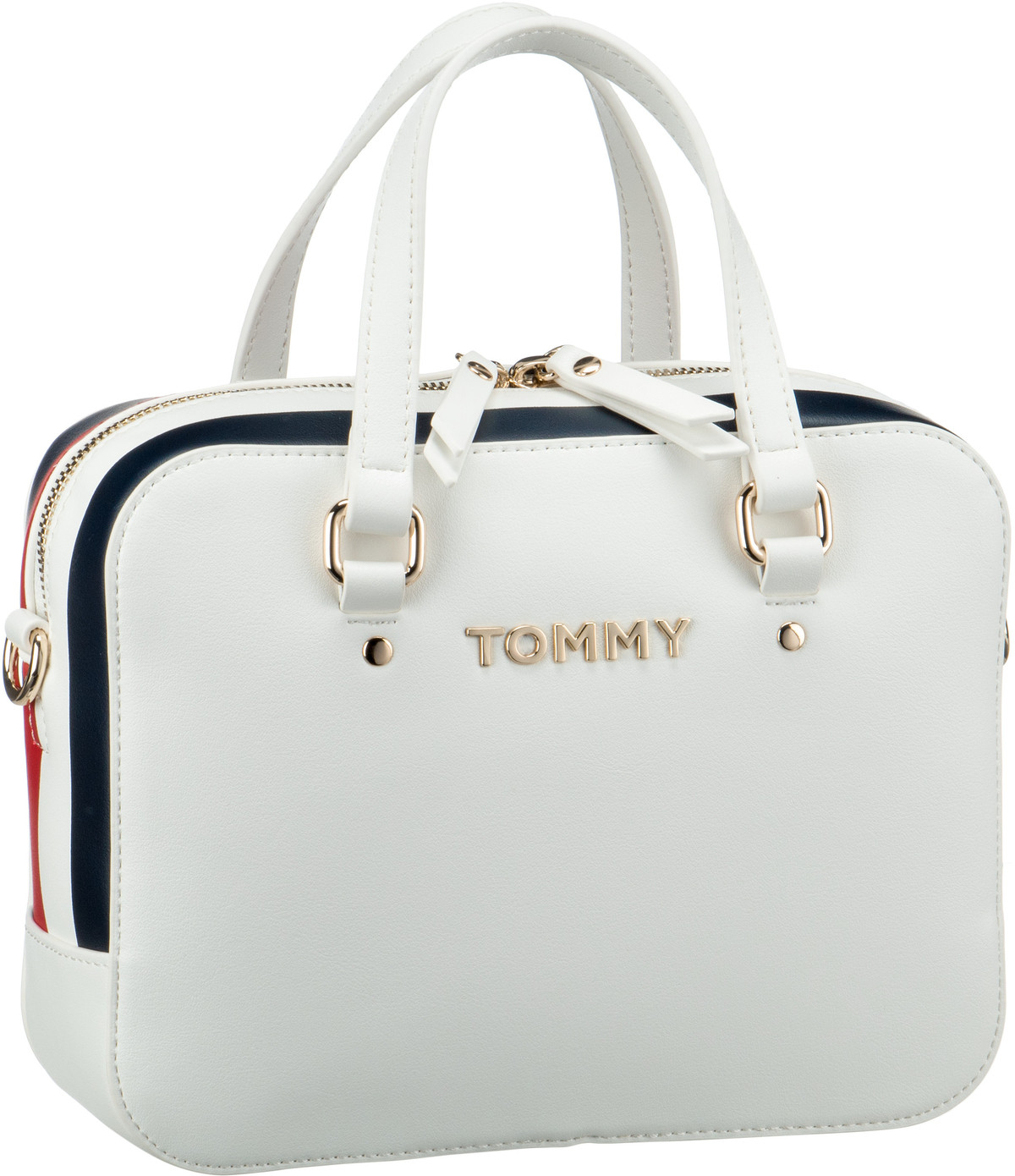 Handtasche TH Corporate Mini Trunk 6820 Bright White
