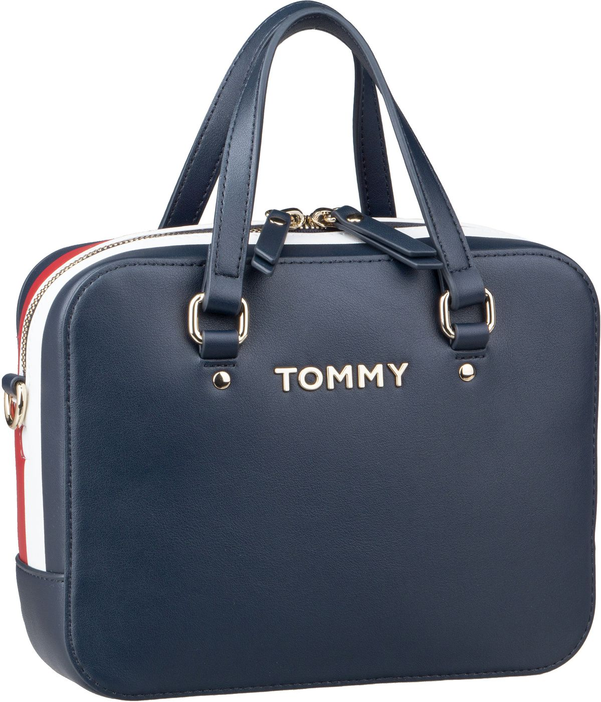 Handtasche TH Corporate Mini Trunk 6820 Tommy Navy
