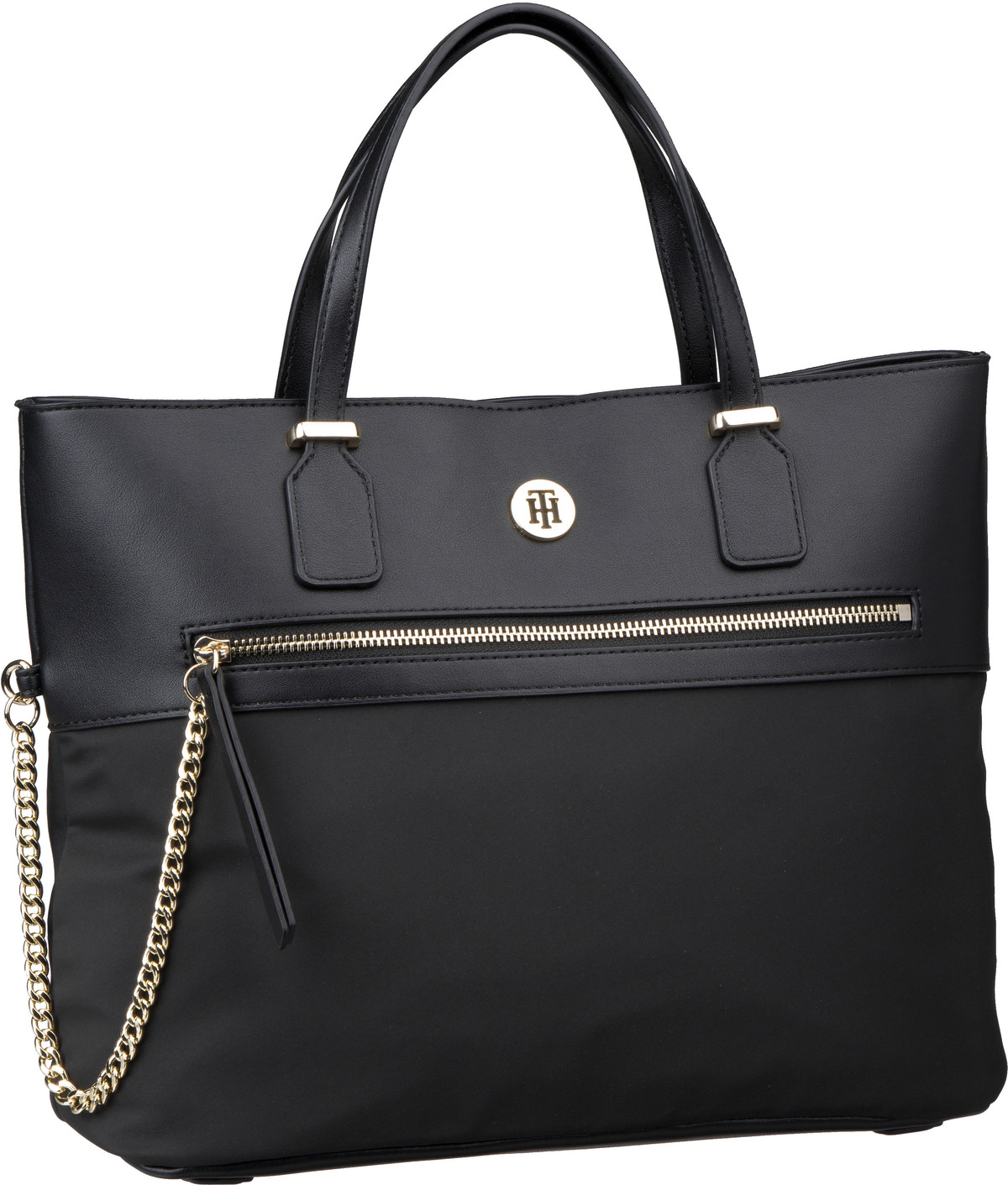 Handtasche Core Nylon Med Tote 6825 Black
