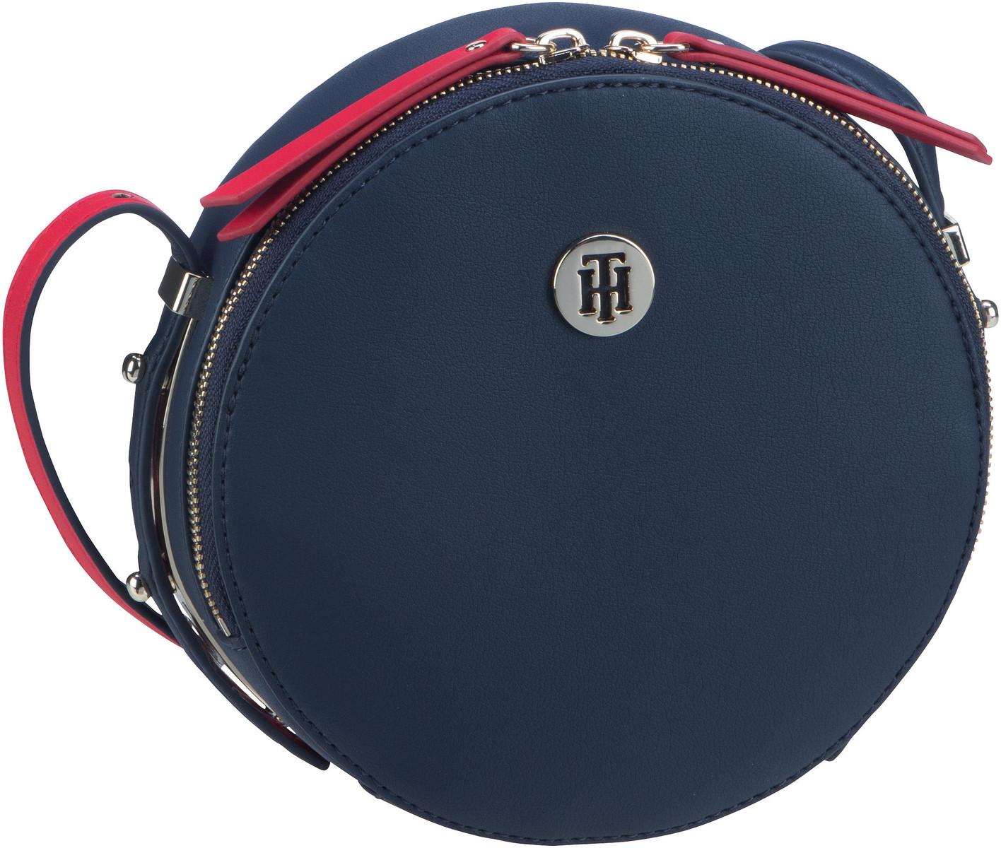 Handtasche SM Modern Hardware Round XOver 7618 Tommy Navy