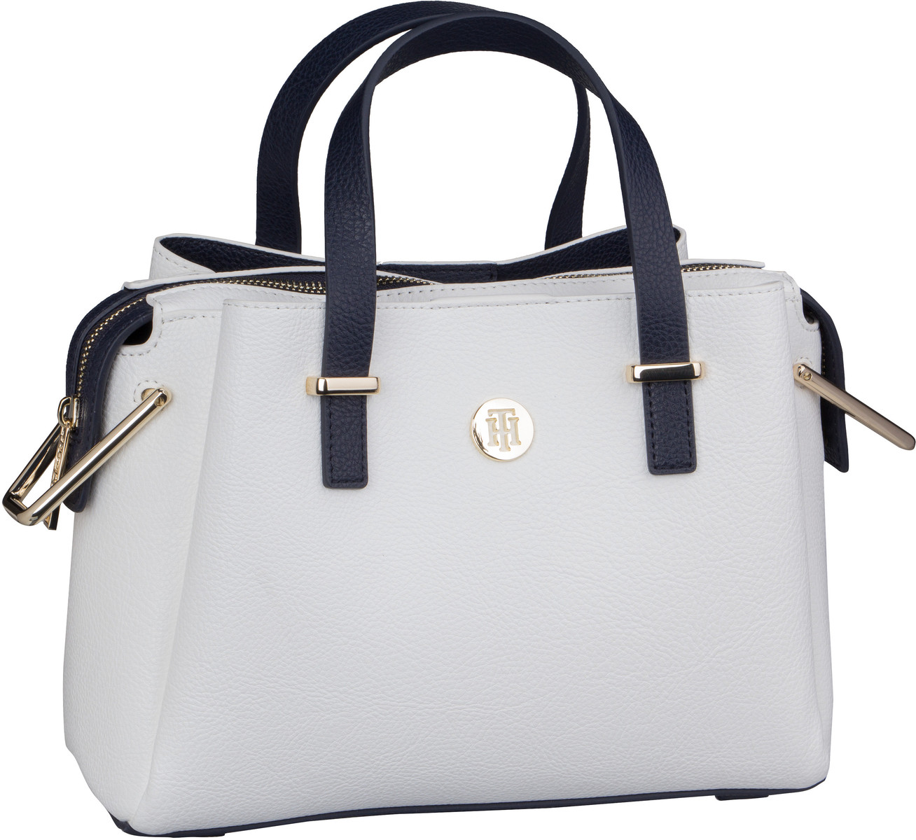 Handtasche TH Core Med Satchel 6816 Bright White
