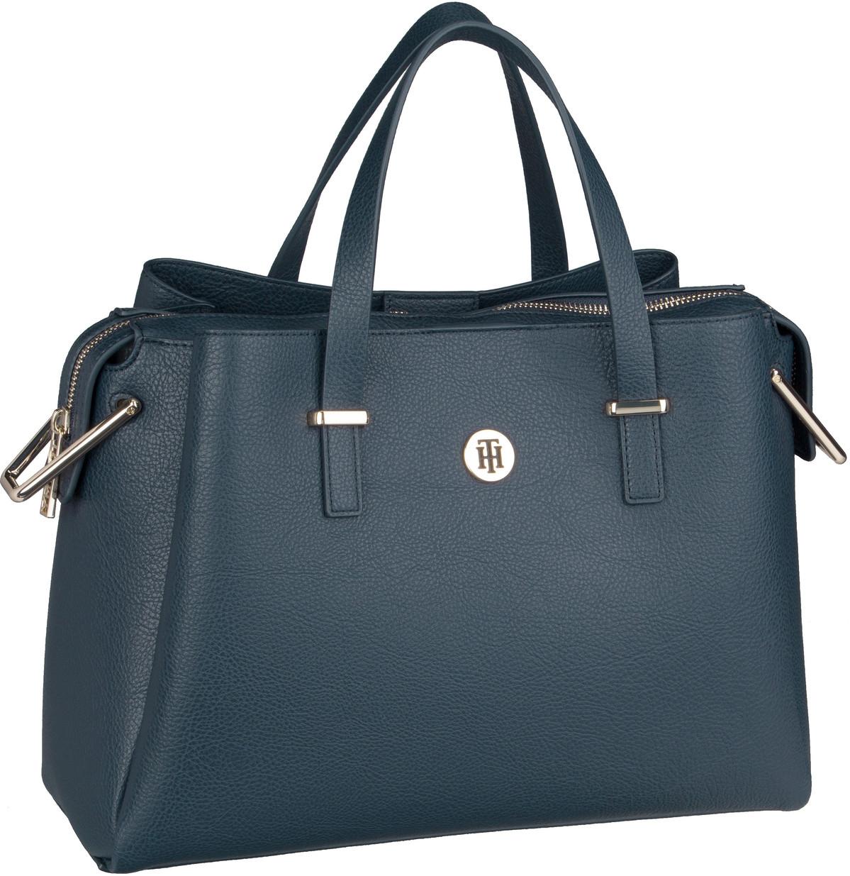 Handtasche TH Core Satchel 6821 Tommy Navy