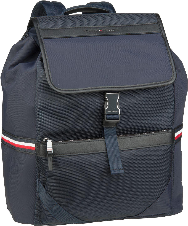 Rucksack / Daypack Elevated Nylon Flap Backpack Sky Captain