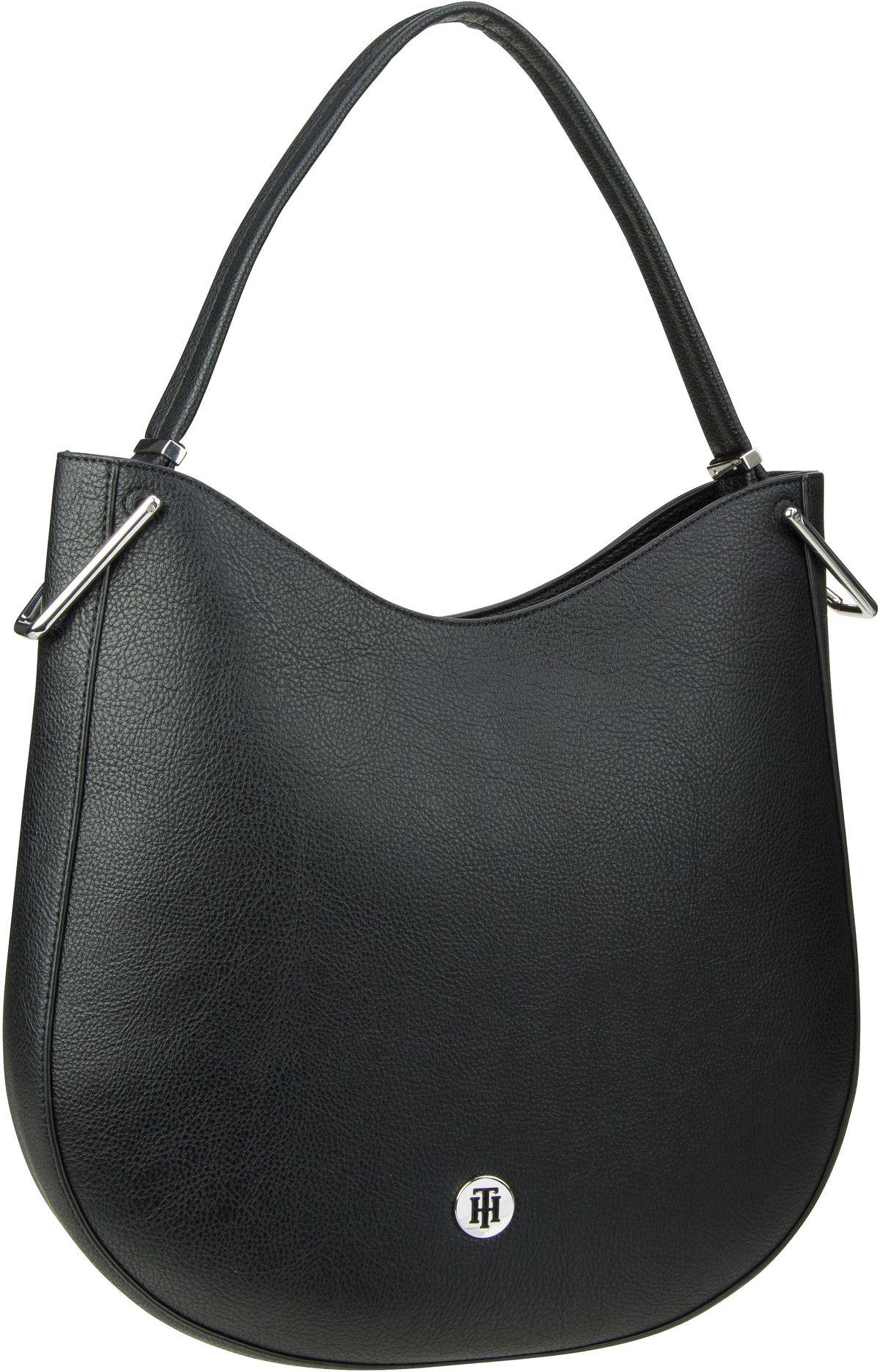 Handtasche TH Core Hobo 0730 Black