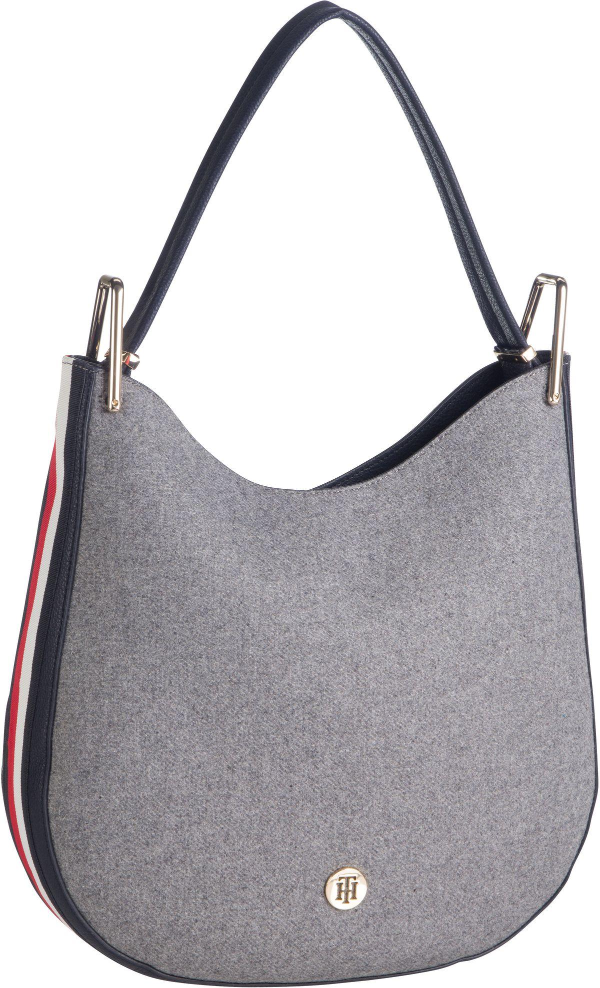 Handtasche TH Core Hobo Melton 7414 Grey Melton