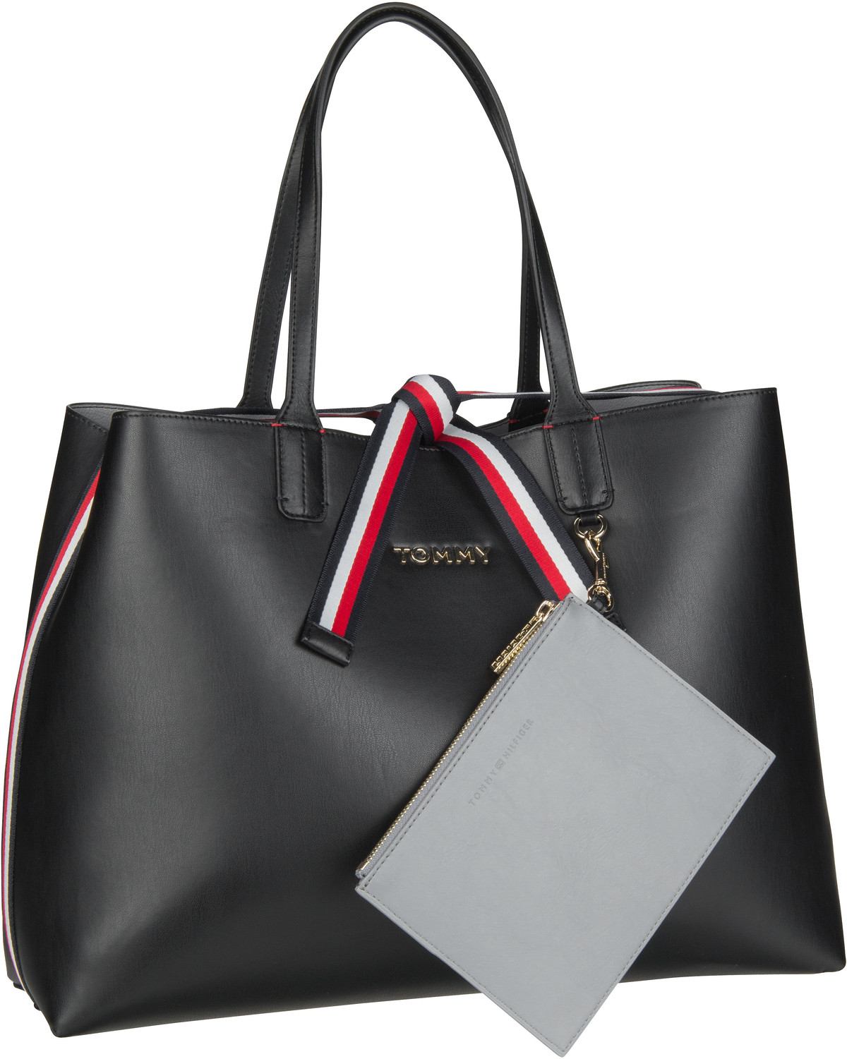 Handtasche Iconic Tommy Tote AW19 Black