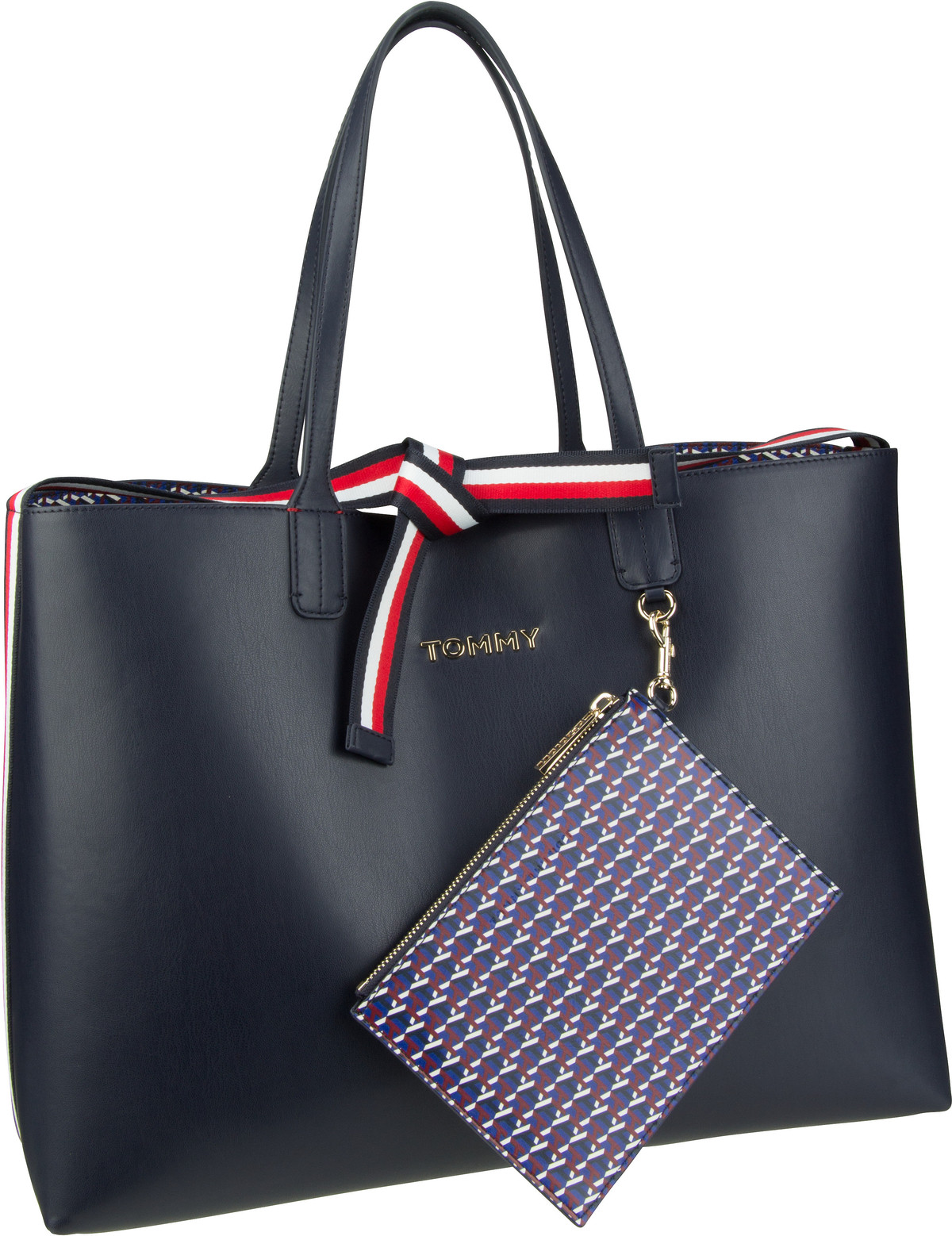 Handtasche Iconic Tommy Tote AW19 Sky Captain
