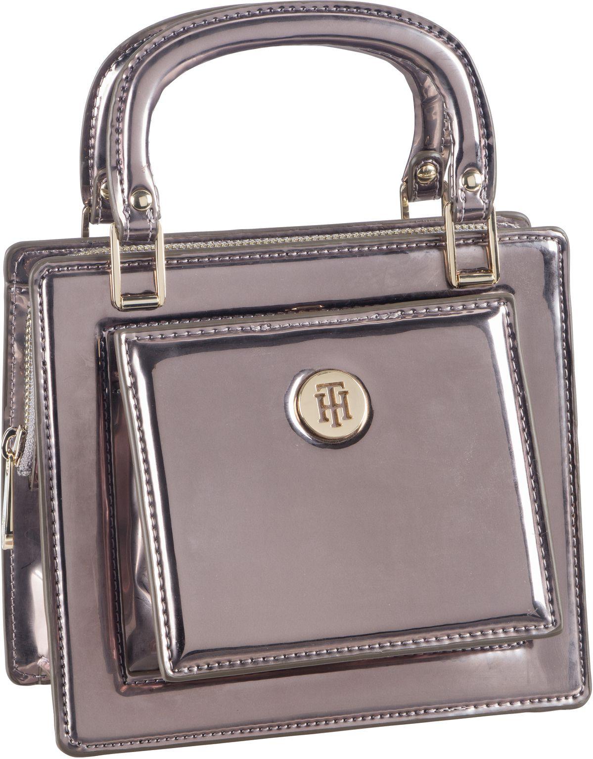 Handtasche TH Fashion Crossover PSP20 Black Silver