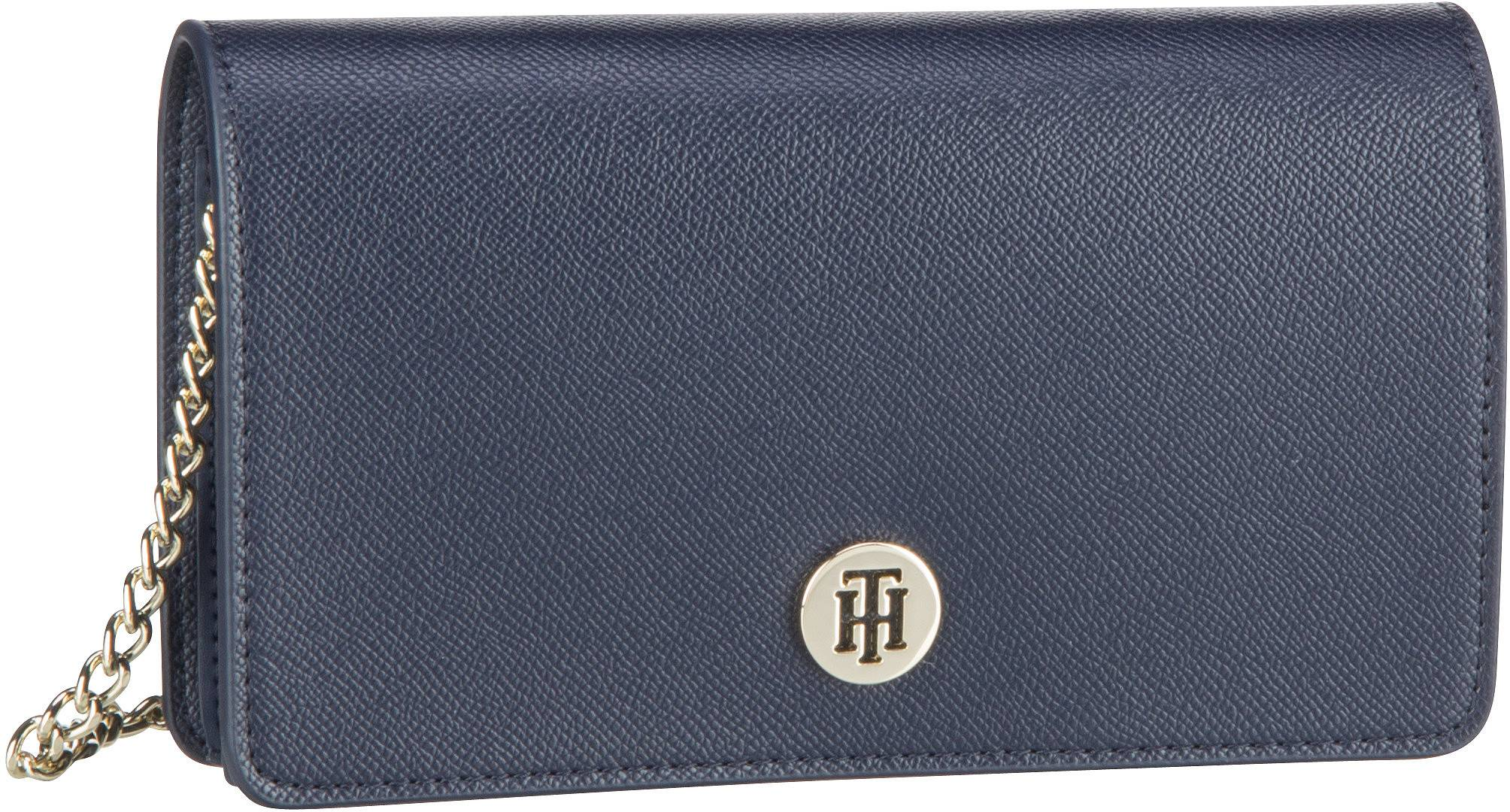 Clutches - Tommy Hilfiger Abendtasche Clutch Honey Mini Crossover SP20 Sky Captain  - Onlineshop Taschenkaufhaus