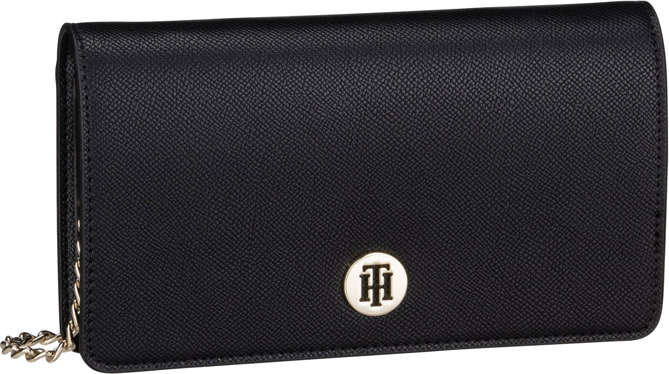 Clutches - Tommy Hilfiger Abendtasche Clutch Honey Mini Crossover SP20 Black  - Onlineshop Taschenkaufhaus