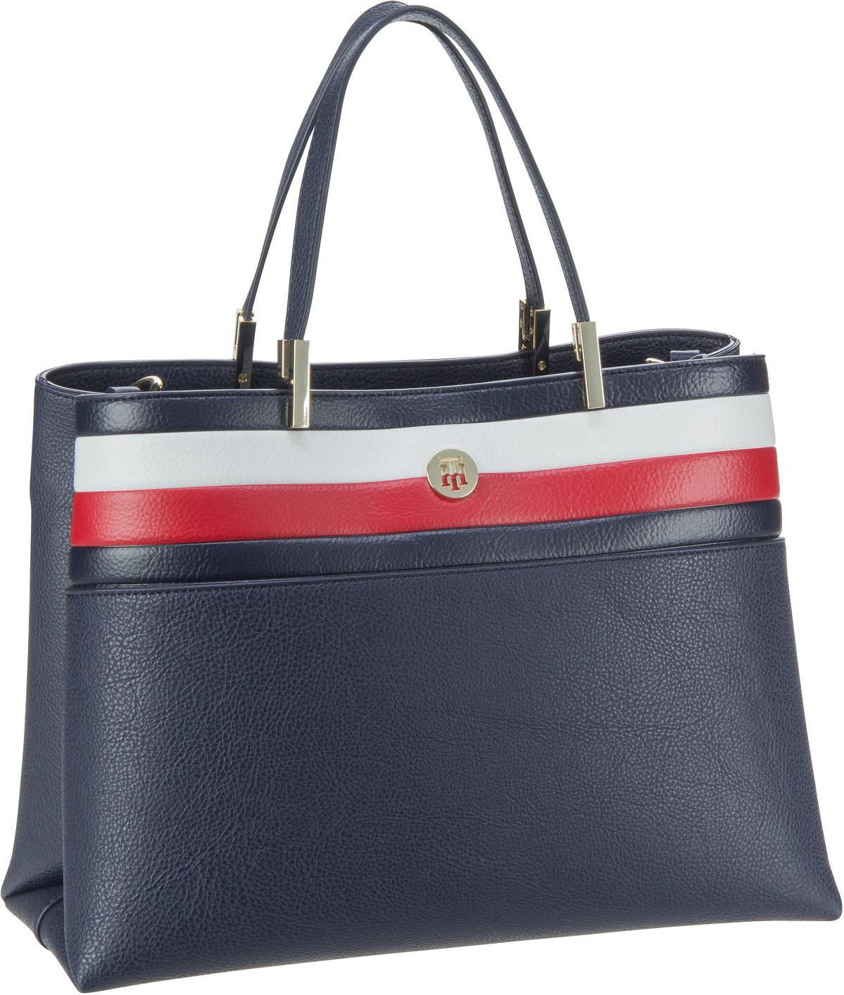 Handtasche TH Core Satchel Corp SP20 Corporate Blue