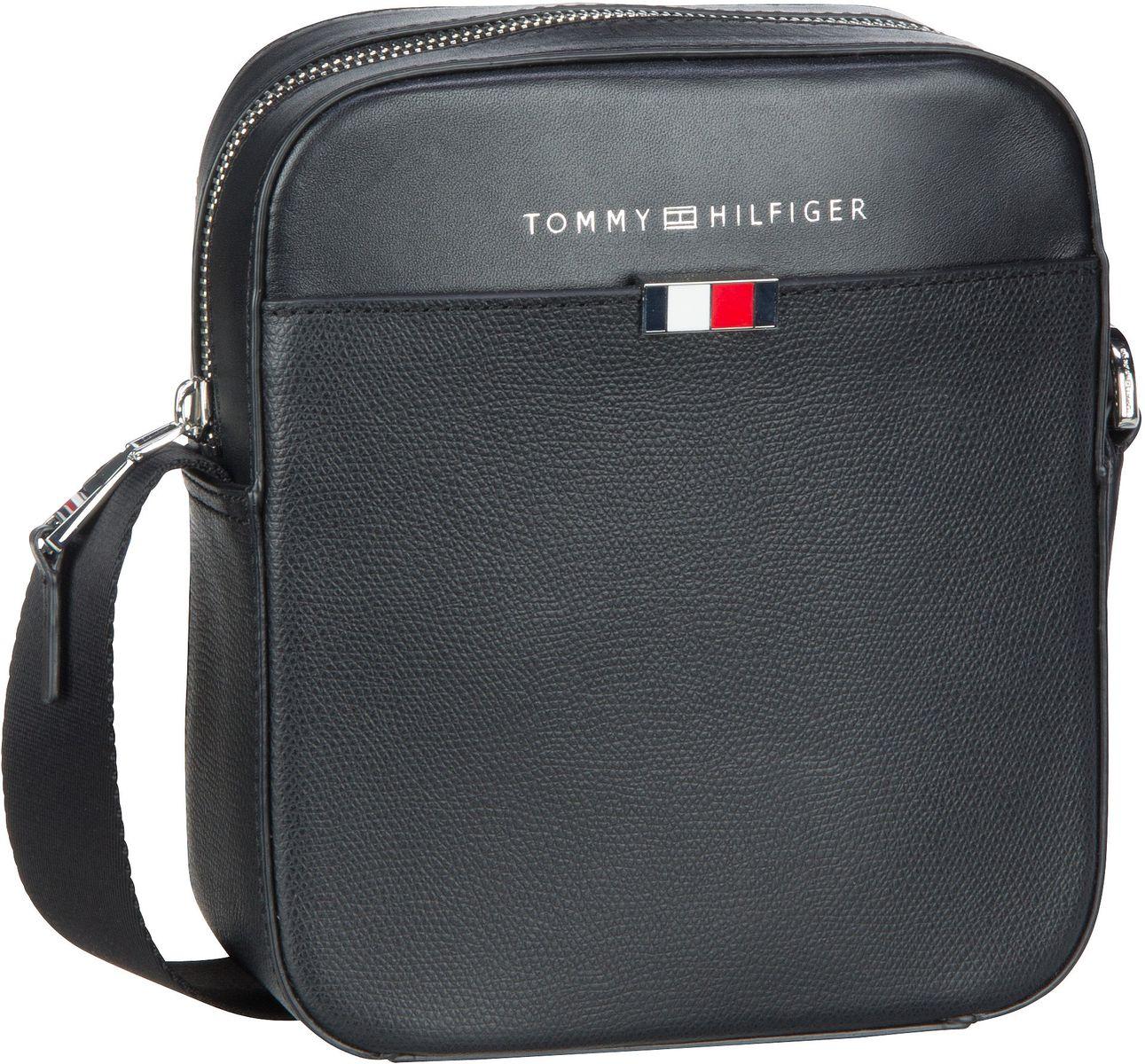 Umhängetasche Business Leather Mini Reporter SP20 Black