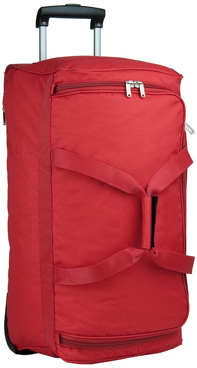 Reisegepaeck für Frauen - travelite Rollenreisetasche Orlando Trolley Reisetasche Rot (73 Liter)  - Onlineshop Taschenkaufhaus